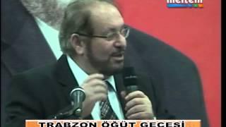 Gambar cover TRABZON ÖĞÜT GECESİ  PROF  DR  HAYDAR BAŞIN KONUŞMASI 1