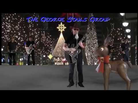 """Run Rudolph Run"" Christmas song of Chuck Berry (1958) cover version by The George Souls Group"