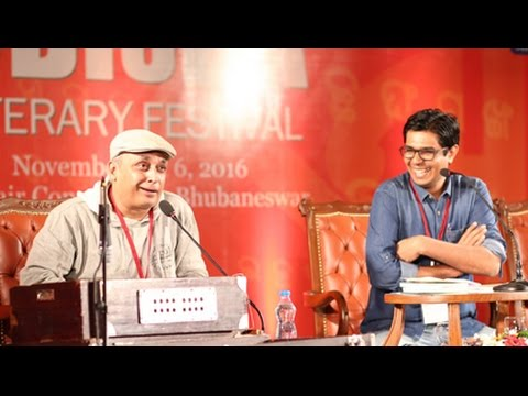 Odisha Litfest 2016, Day 2- Guftagoo with Actor-writer Piyush Mishra and Divya Prakash Dubey