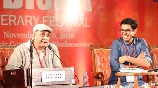 Odisha Litfest 2016, Day 2- Guftagoo with Actor-writer Piyush Mishra and Divya Prakash Dubey