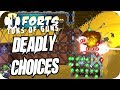Forts Multiplayer 4v4 Gameplay Deadly Choice, Insanity Map