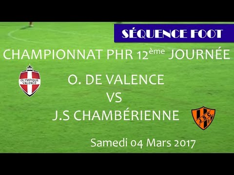 Sequence Foot - PHR - OV vs CHAMBERY JS _04 03 2017