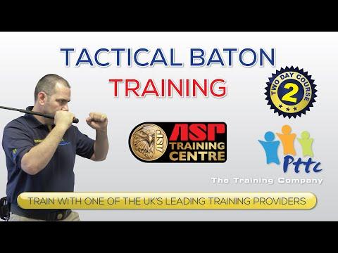 Tactical Baton Training Course PTTC London YouTube