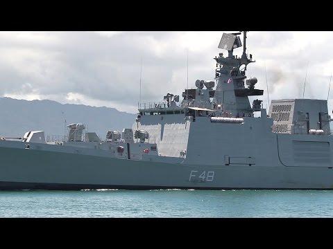 Indian Navy Frigate INS Satpura Departs Pearl Harbor For RIMPAC 2016