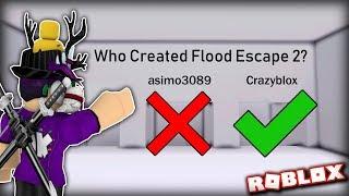 PREMIER PERSON TO BEAT MY QUIZ MAP remporte 1 000 ROBUX!!! | Évasion d'inondation 2 sur roblox #74