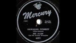 Rex Allen - Honolulu Boogie / Hawaiian Boogie