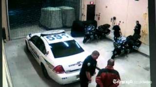 Trayvon Martin shooting: CCTV shows George Zimmerman sustain