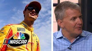 Joey Logano upset at McDowell for Daytona 500 incident | NASCAR | Motorsports on NBC