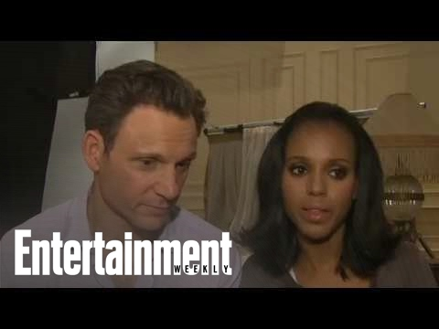 Scandal: Kerry Washington & Tony Goldwyn On Romance & More | Cover Shoot | Entertainment Weekly