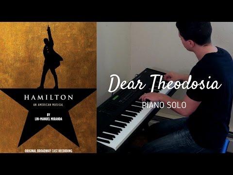 Dear Theodosia - Piano Cover - Hamilton
