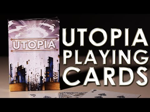 Deck Review - Utopia Playing Cards By Card Experiment [HD]