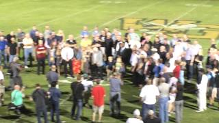 Doug Henderson Stadium Dedication Western Guilford Pt1
