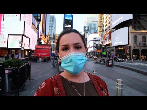 TIMES SQUARE DURING A PANDEMIC