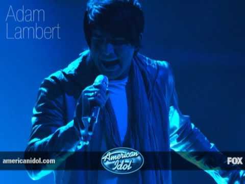 Adam Lambert  - Feeling Good  -  ( American Idol )