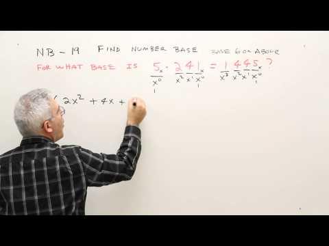 NB 19--Find Number Base