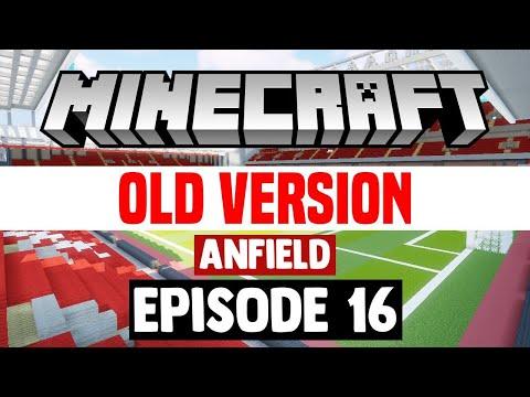 Minecraft Stadium Builds: Anfield [16] Roof