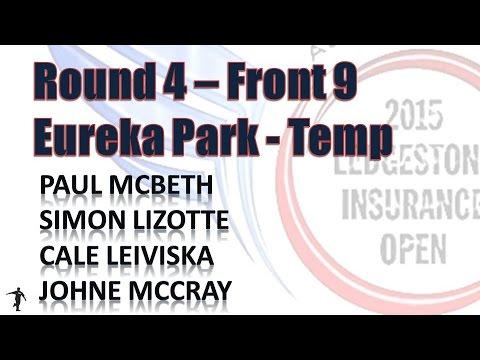 The Disc Golf Guy - Vlog #324 - P McBeth S Lizotte C Leiviska J McCray Ledgestone R4F9