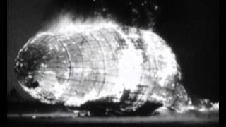 The Hindenburg disaster - news report