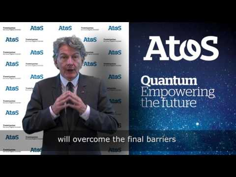 "Thierry Breton presents the ""Atos Quantum"" program"