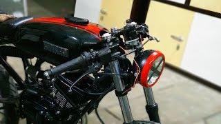 YAMAHA RX-135 CAFE RACER Build Part 2
