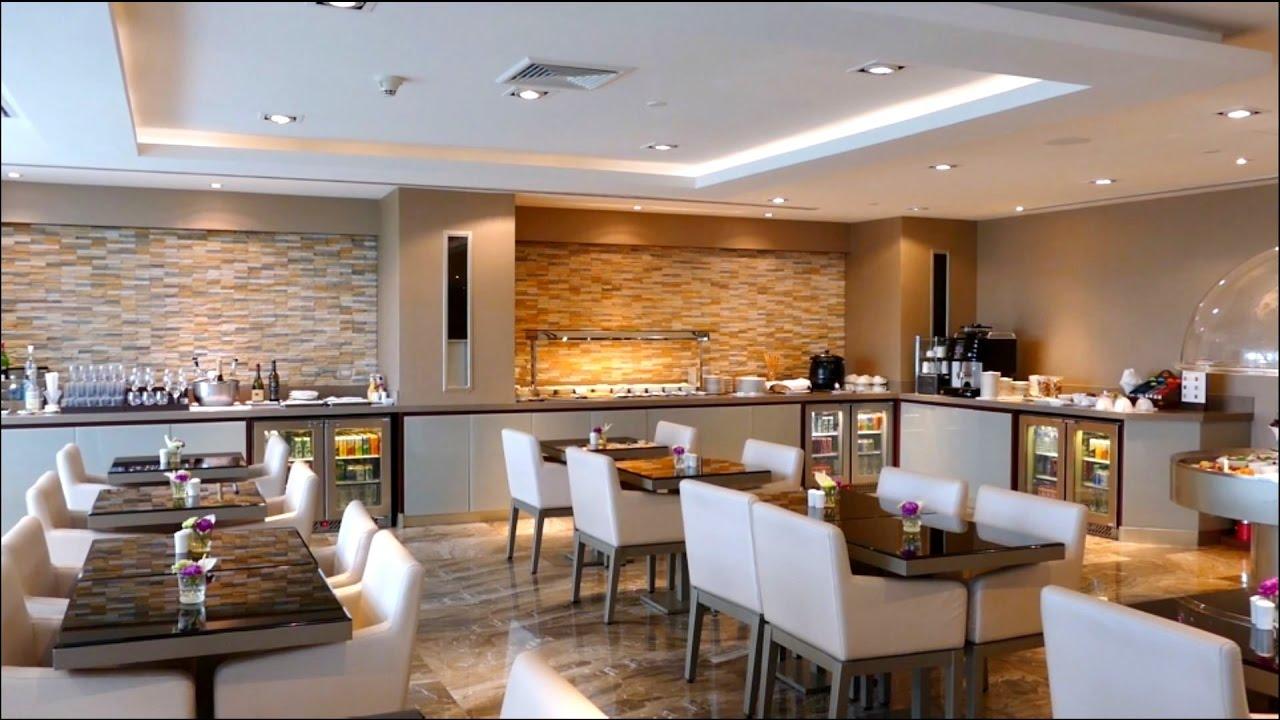 Emirates Business & First Class Lounge - Bangkok BKK Airport Thailand