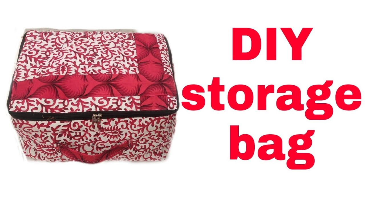 Big Storage bag // saree storage bag //Storage bag for clothes
