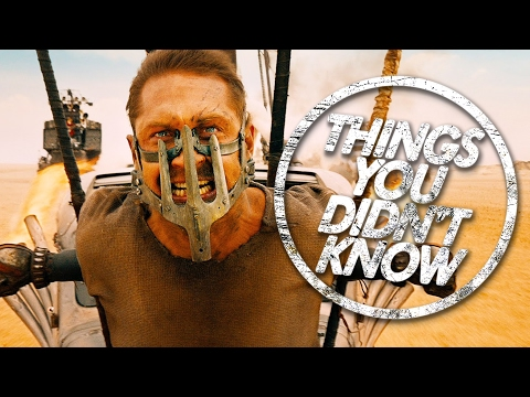 7 Things You (Probably) Didn't Know About Mad Max: Fury Road!