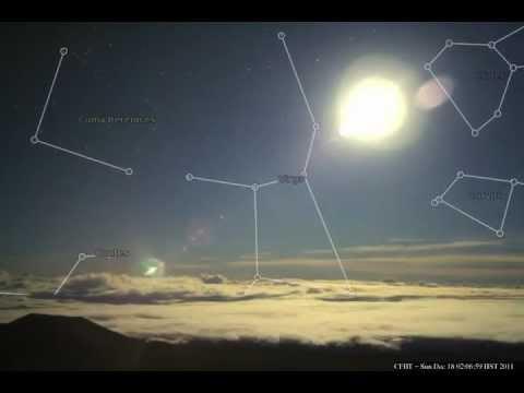 SKYVIEWS   TIMELAPSE  CONSTELLATIONS  DECEMBER 18, 2011