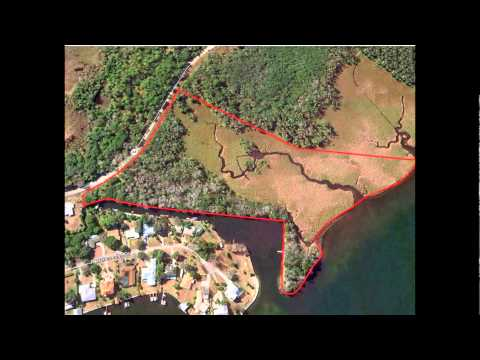 Waterfront lots for sale on Kings Bay River in Citrus County, Crystal River Florida
