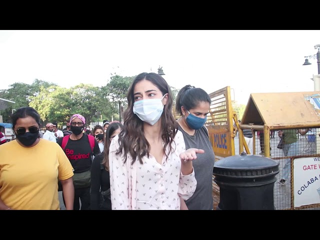 Ananya Pandey Spotted At Gateway Of India