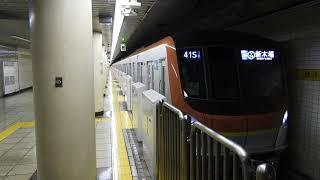 【形式デビューから1か月】 東京メトロ有楽町線17000系17102F 銀座一丁目駅発車