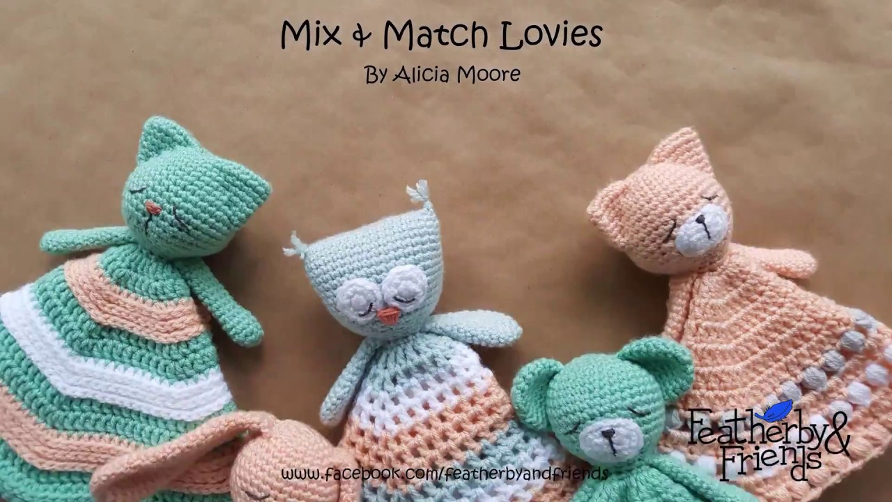 Mix Match Lovey Pattern By Featherby Friends Youtube