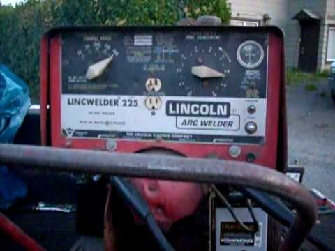 Lincoln LincWelder 225 Comes Back to Life YouTube – Lincoln 225 S Wiring Diagram