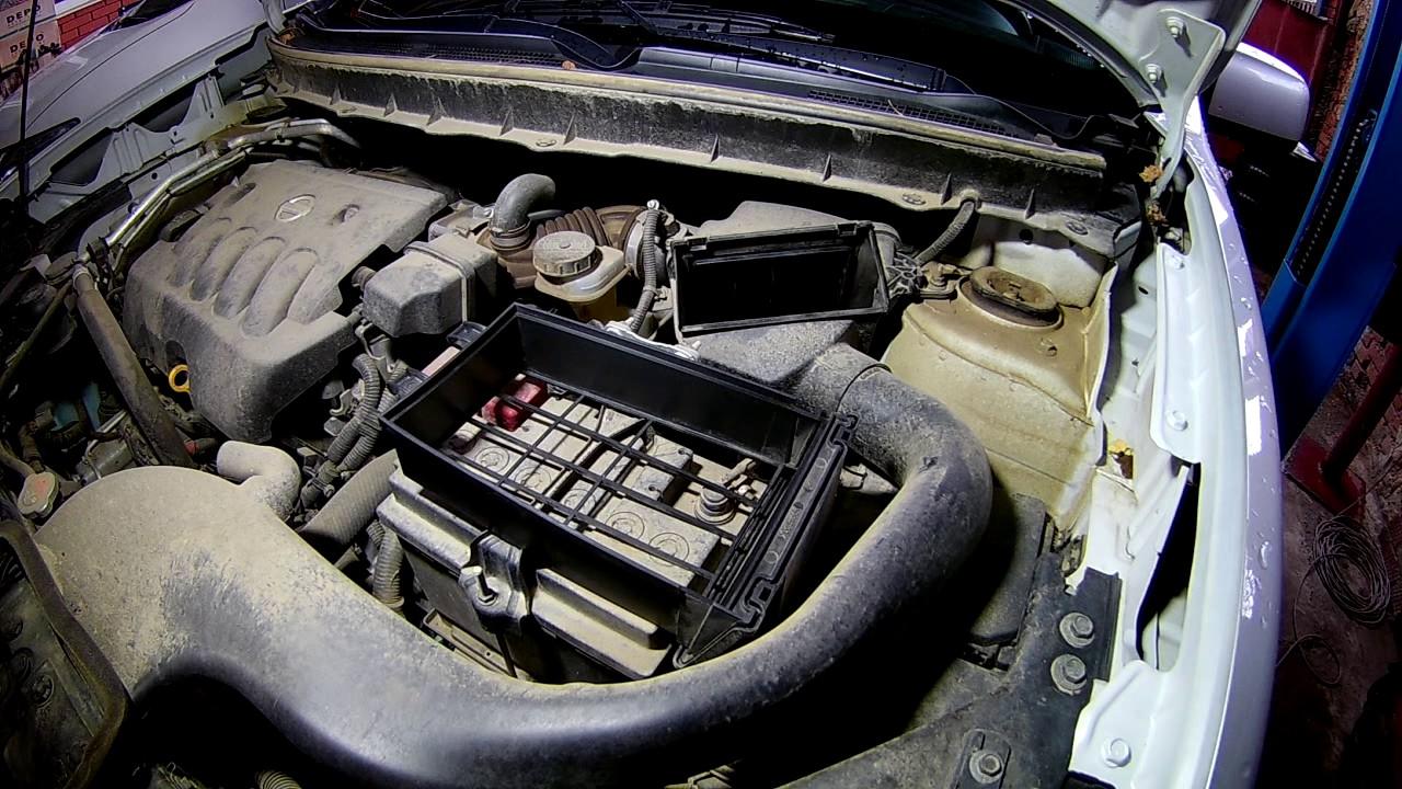Замена масла и фильтров на  Форд Торнео 1,8  2005 года Ford Tourneo Connect