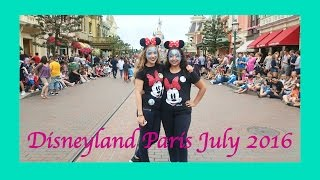 Disneyland Paris Vlog - July 2016(My best friend's first time at Disneyland Paris! ▻ Lisa's link: https://youtu.be/iVFxMiUaibQ ▻ Twitter: https://twitter.com/Sam4God ▻ Instagram: ..., 2016-07-21T20:21:01.000Z)