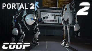 portal 2 Co-op. #2 - Масса и скорость