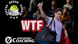 Video Federer STUNNED 2017 WTF   Coffee Break Tennis LIVE download MP3, 3GP, MP4, WEBM, AVI, FLV November 2017