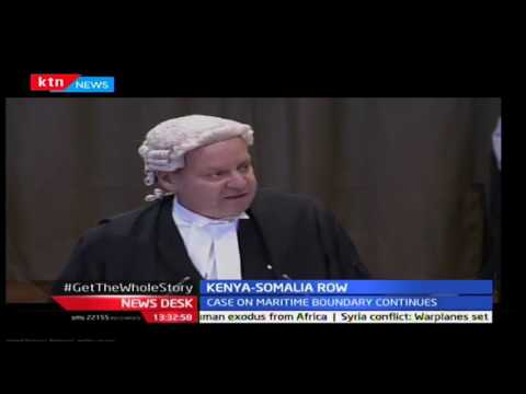 News Desk: Case on maritime boundary between Kenya and Somalia continues,9/23/2016