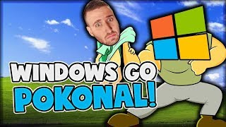 PURPOSZA POKONAŁ WINDOWS! - TRACKMANIA 2 STADIUM #63 /w Purposz