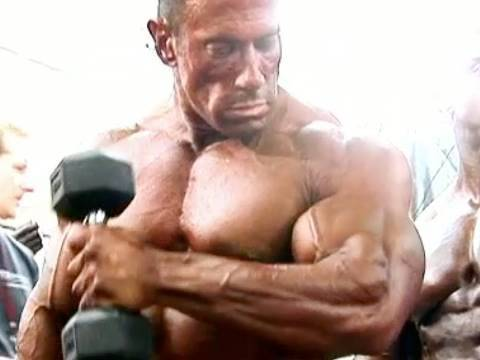 2007 Nationals Men's Bodybuilding Pump Room 2