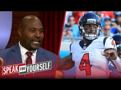 Marcellus Wiley on Watson and Mahomes being the NFL's next QB rivalry | NFL | SPEAK FOR YOURSELF