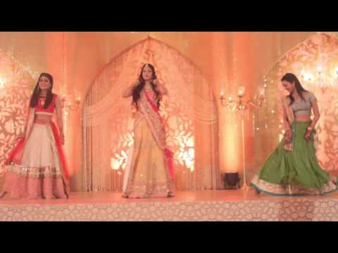 Bride's Sister's Dance To Banno | Sangeet | Wedding | Happy Dancing Feet