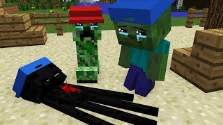 Mob Kids Life - Kids Minecraft Animation