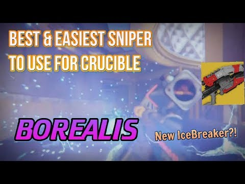 BEST SNIPER IN THE GAME! Easiest Sniper for PvP | Destiny 2 Borealis Exotic Review (New Icebreaker)