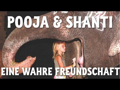 Pooja & Shanti - Freundschaft zwischen einem 6-jährigen Mädchen und einem Tempelelefanten