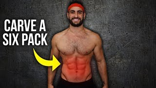 5-Minute Six Pack Abs Workout AT HOME For Men (No Equipment!)