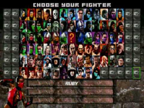 Mortal kombat project 4 1 secret character