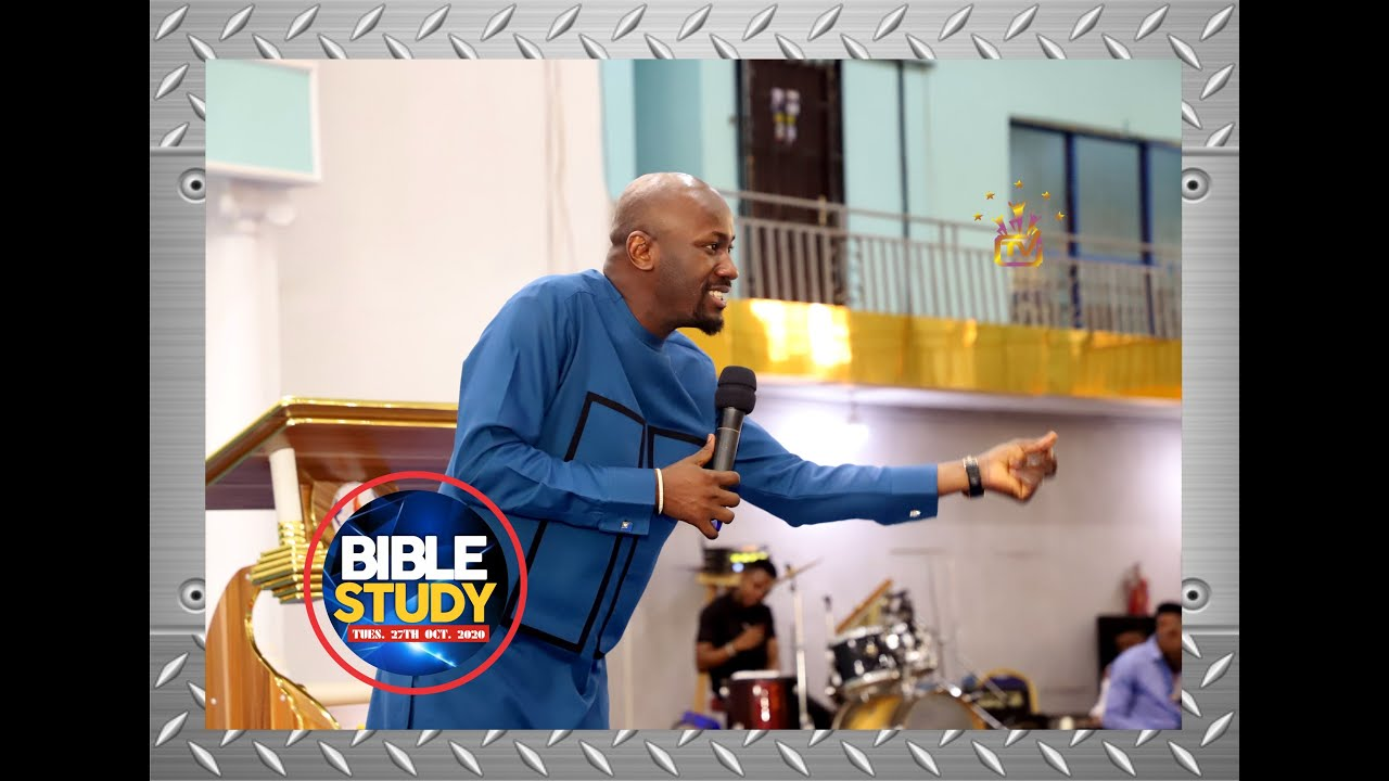 Download THE SECRET OF FULFILLMENT By Apostle Johnson Suleman {BIBLE STUDY - Tues. 27th Oct. 2020}