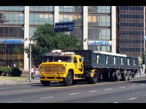 BUENOS AIRES TRUCKS ARGENTINA JANUARY 2012