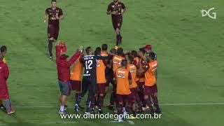 Melhores momentos de Vila Nova 1 x 1 Santa Cruz no Estádio Serra Dourada